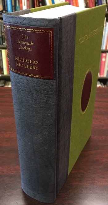 Image for Nicholas Nickleby (A facsimile edition of The Nonesuch Dickens published in 1937 by the Nonesuch Press)