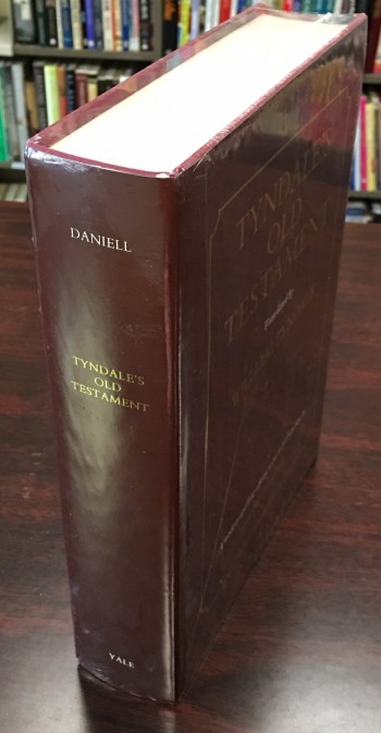 Image for Tyndale's Old Testament: being the Penteteuch of 1530, Joshua to 2 Chronicles of 1537, and Jonah. Translated by William Tyndale. In a modern-spelling edition and with an introduction by David Daniell