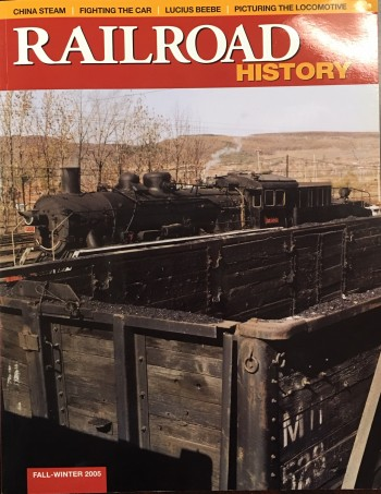 Image for Railroad History (No. 193 / Fall-Winter 2005)