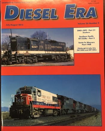 Image for Diesel Era (Volume 26/Number 4 - July/August 2015)