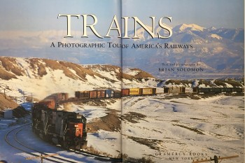 Image for Trains: A Photographic Tour of America's Railways