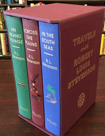 Image for Travels With Robert Louis Stevenson - 3 Volume Set (An Inland Voyage / In the South Seas / Across the Plains)