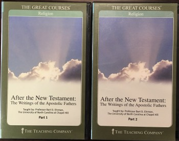 Image for After the New Testament: The Writings of the Apostolic Fathers (The Great Courses: Audio DVD set and companion guide book)