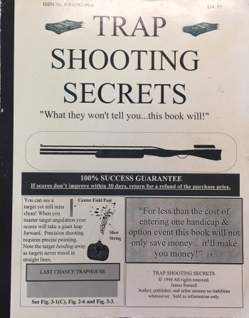 Image for Trap Shooting Secrets: What they won't tell you...this book will!