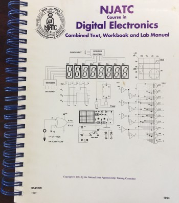 Image for NJATC Course in Digital Electronics: Combined Text, Workbook and Lab Manual (S040SW)