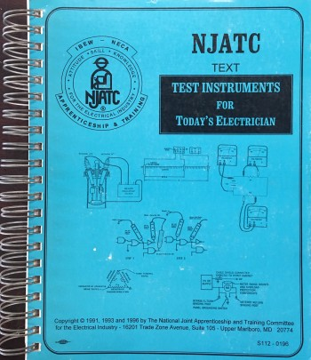 Image for Test Instruments for Today's Electrician - 3rd Revised Edition (NJATC - S112-0196))