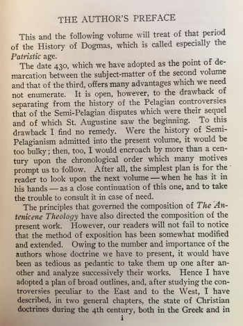 Image for History of Dogmas - Vol. I. The Antenicene theology  / Vol. II. From St. Athanasius to St. Augustine (318-430) / Vol. III. The end of the patristic age (430-800)