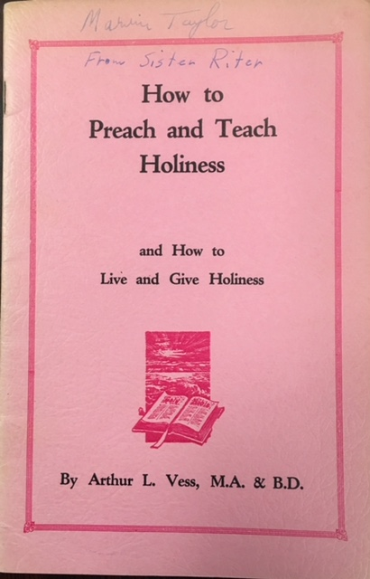 Image for How to Preach and Teach Holiness and How to Live and Give Holiness