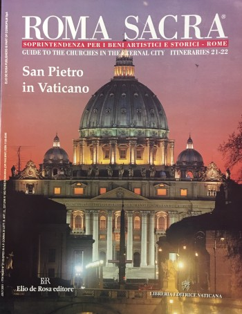 Image for Roma Sacra: Guide to the Churches in the Eternal City - Itineraries 21-22 (The planning of this issue edited by Fabrica of St. Peter's)