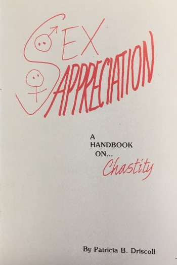 Image for Sex Appreciation:  A Handbook on Chastity
