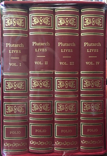 Image for Plutarch Lives: The Dryden Translation - 4 Volume Set