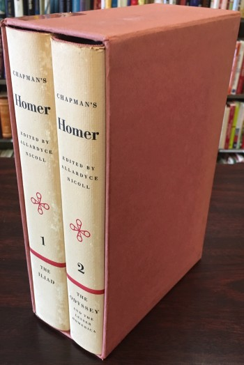 Image for Chapman's Homer: The Iliad / The Odyssey and the Lesser Homerica - Two Volume Set (Bollingen Series XLI)