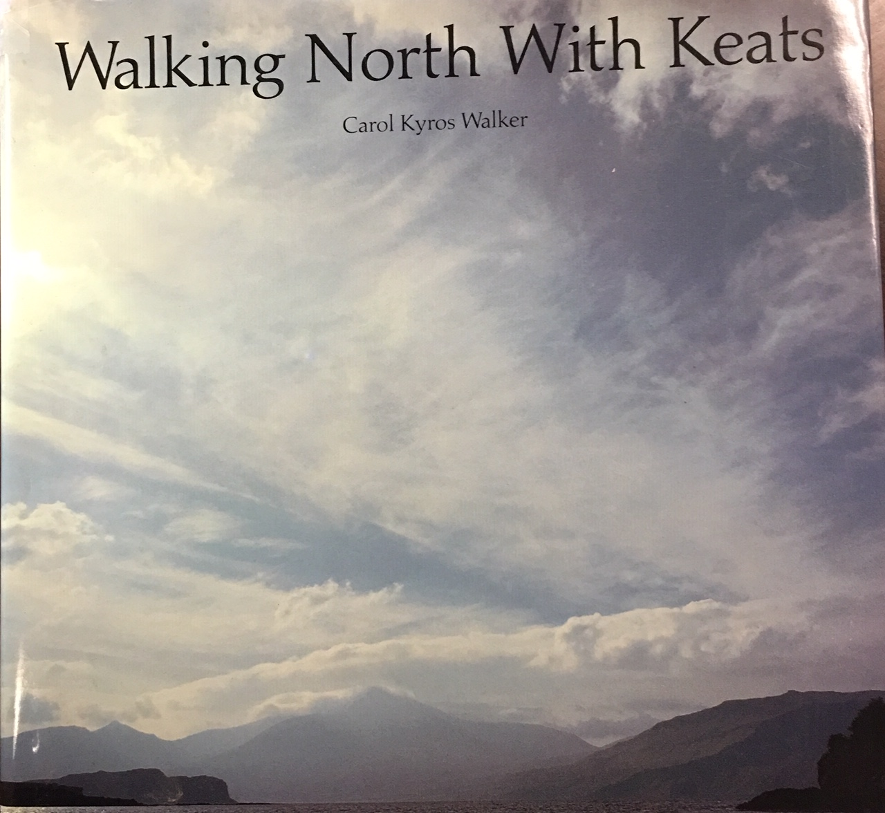 Image for Walking North with Keats