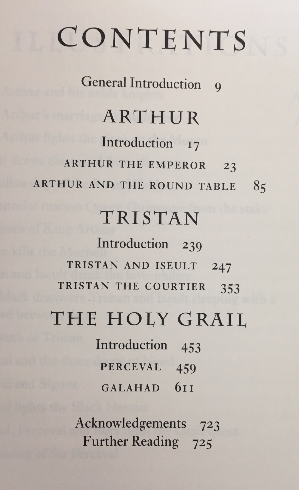 Image for Legends of King Arthur  (3 Books Bound in One Volume)  - Arthur / Tristran / The Holy Grail