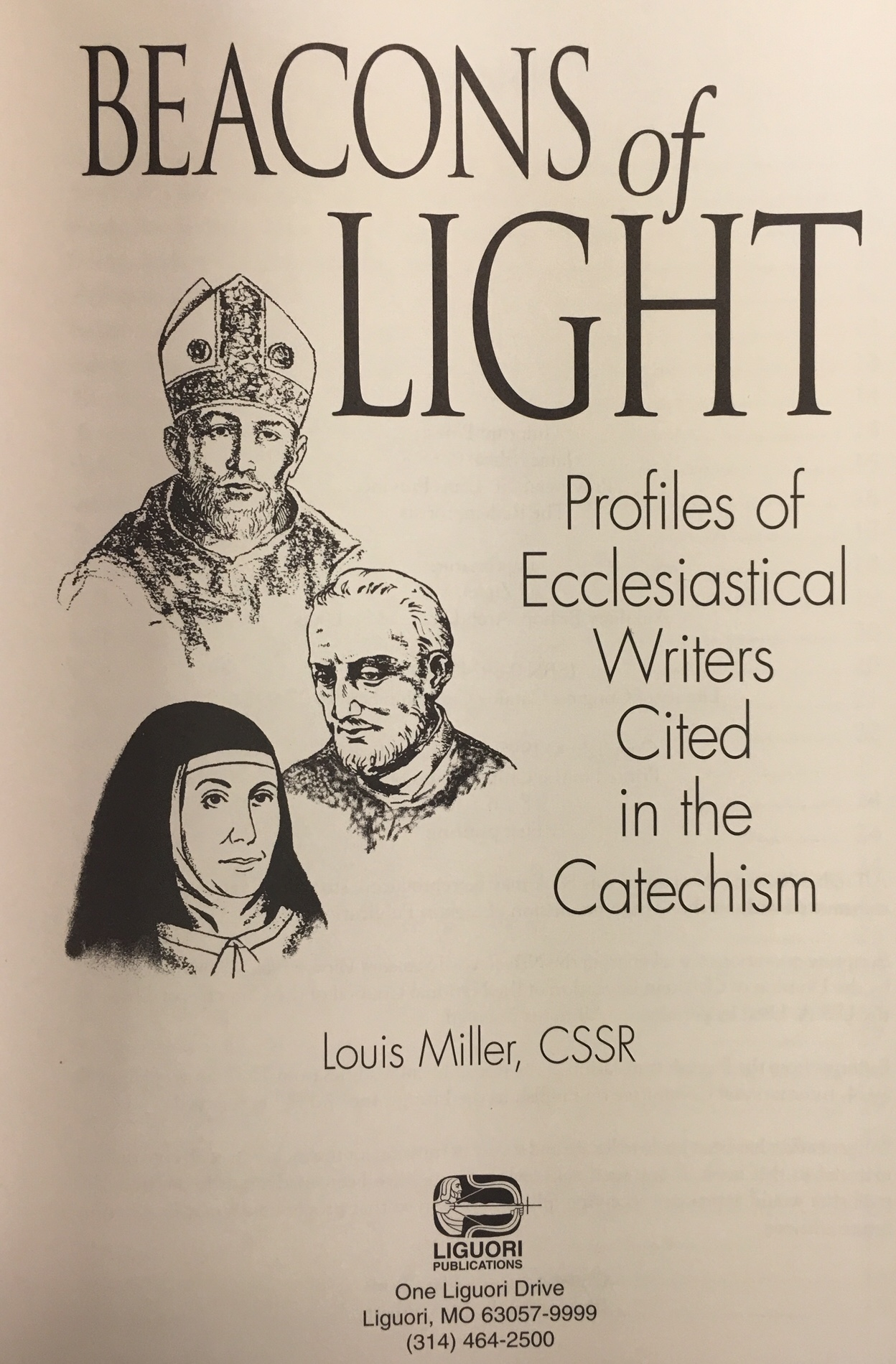 Image for Beacons of Light: Profiles of Ecclesiastical Writers Cited in the Catechism