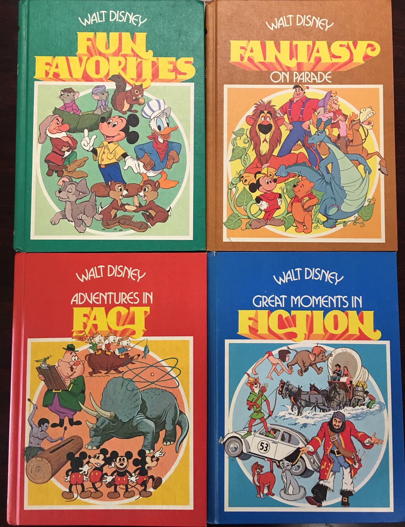 Image for The Walt Disney Parade of Fun, Fact, Fantasy, and Fiction (4 vol. set)