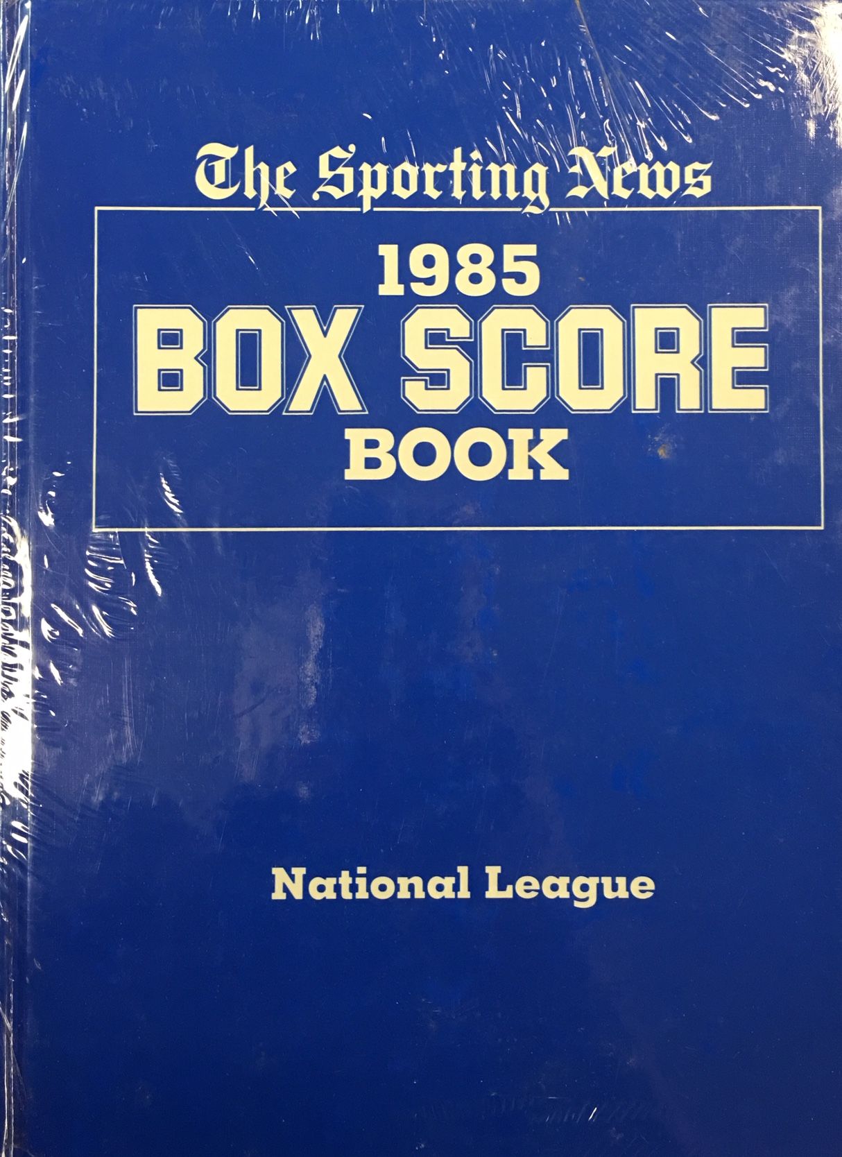 Image for 1985 Box Score Book: American League & National League (Official American & National League Averages and Box Scores) 2 Book Set