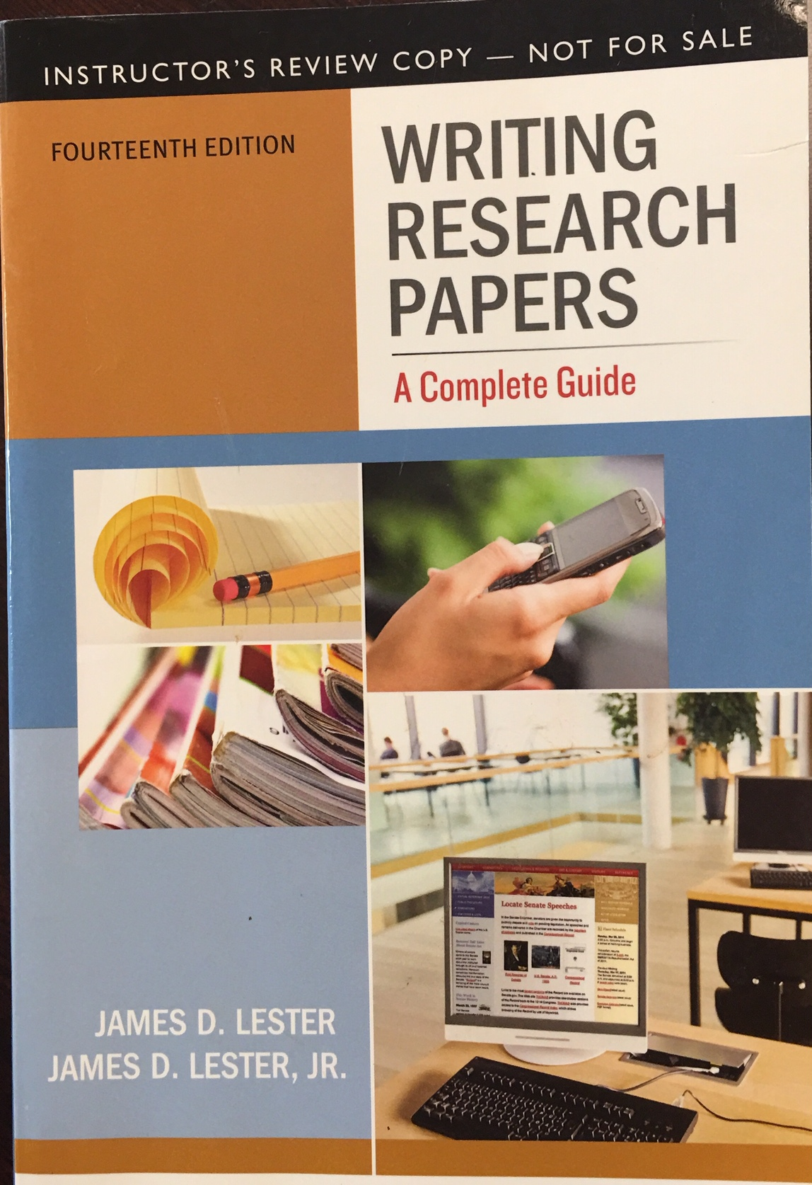 Image for Writing Research Papers: A Complete Guide (14th Edition)