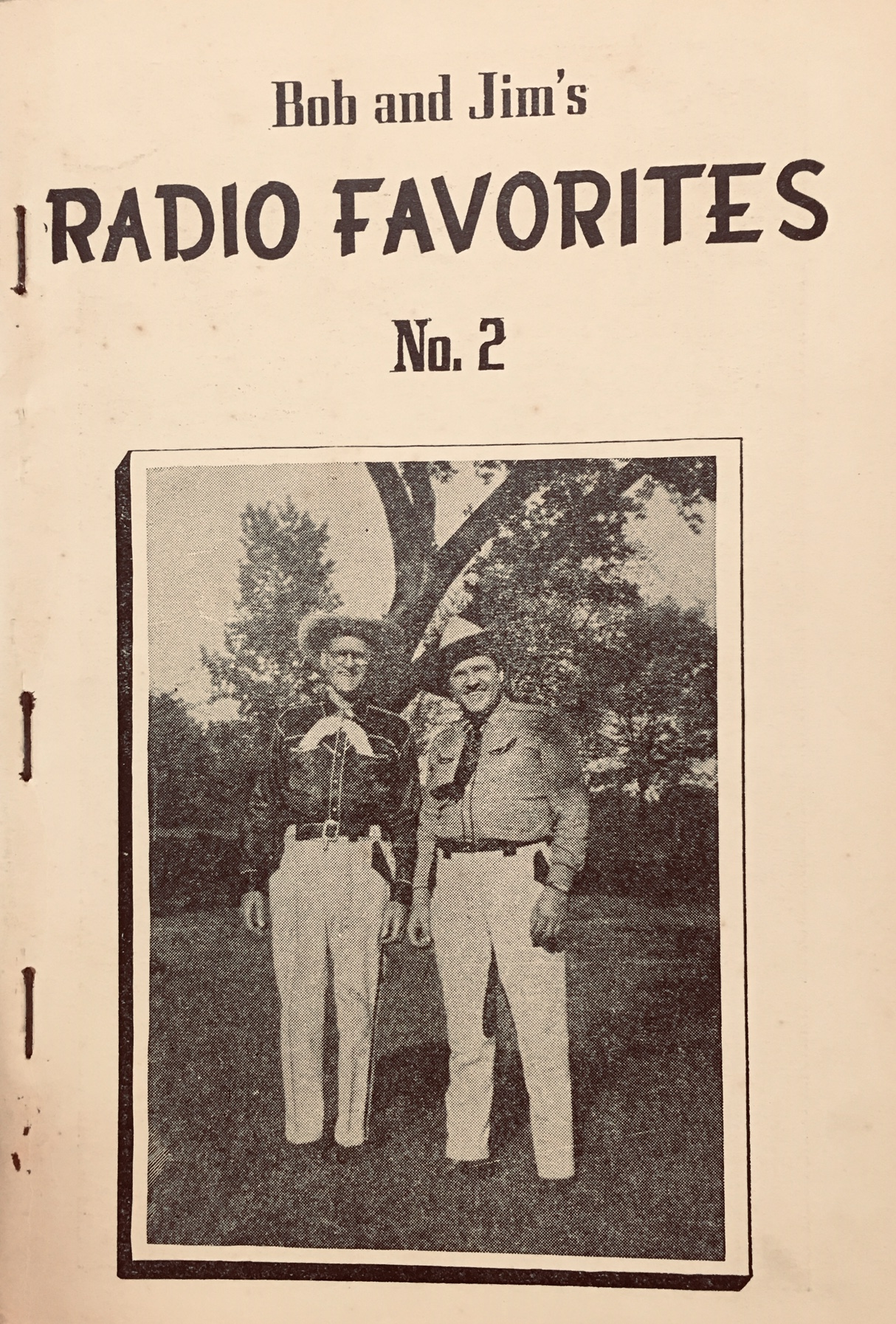 Image for Bob and Jim's Radio Favorites No 2