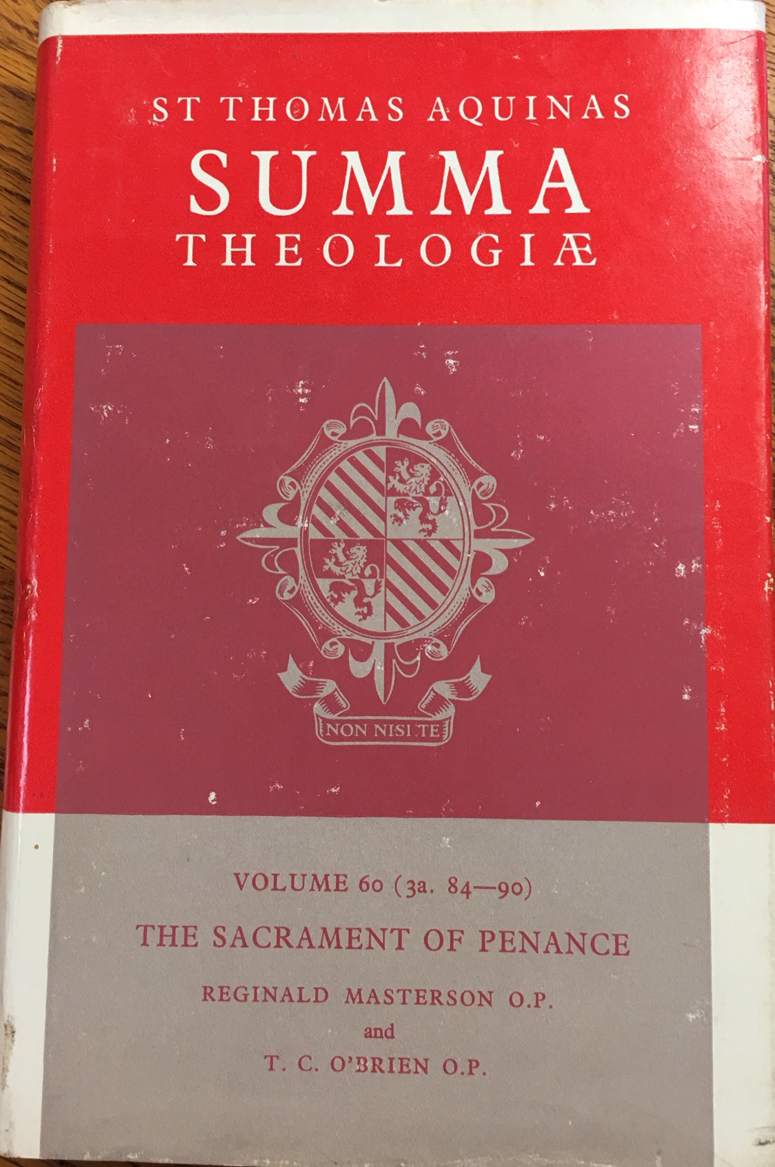 Image for Summa Theologiae: Vol 60 (3a 84-90), The Sacrament of Penance