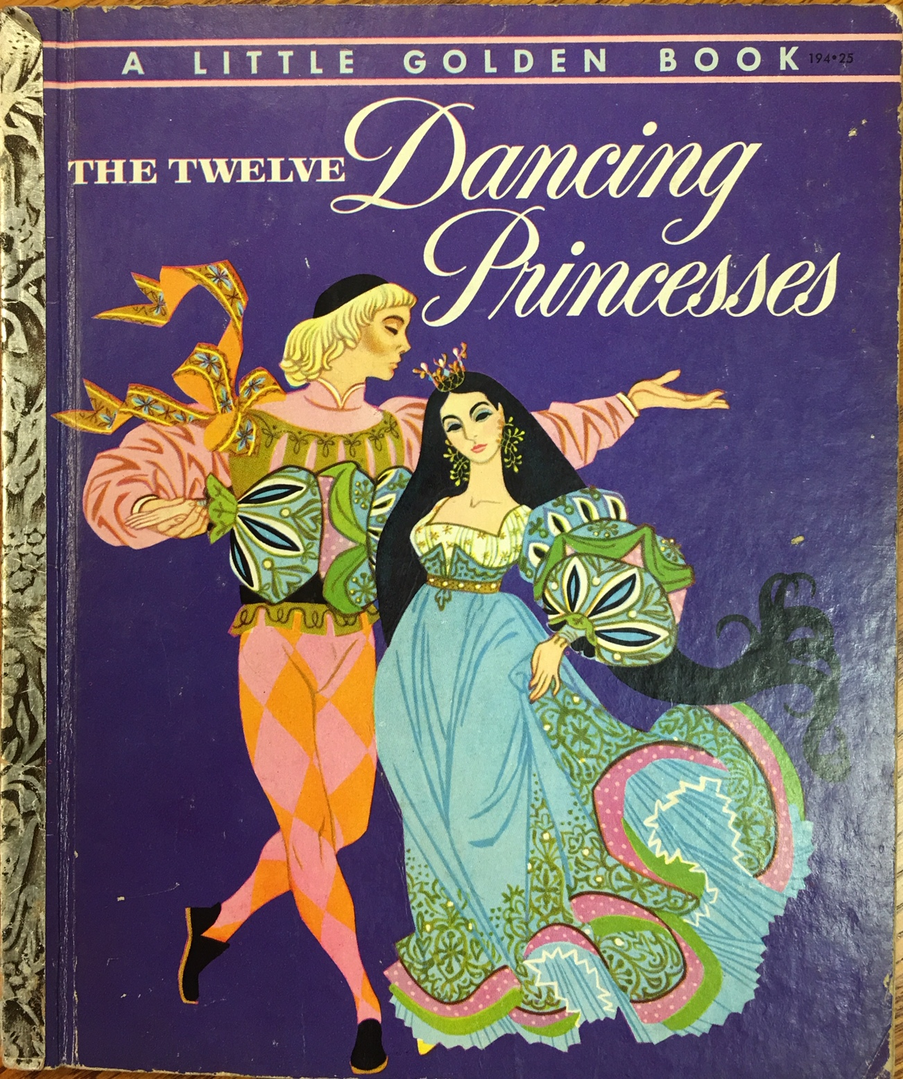 Image for The Twelve Dancing Princesses (A Little Golden Book)
