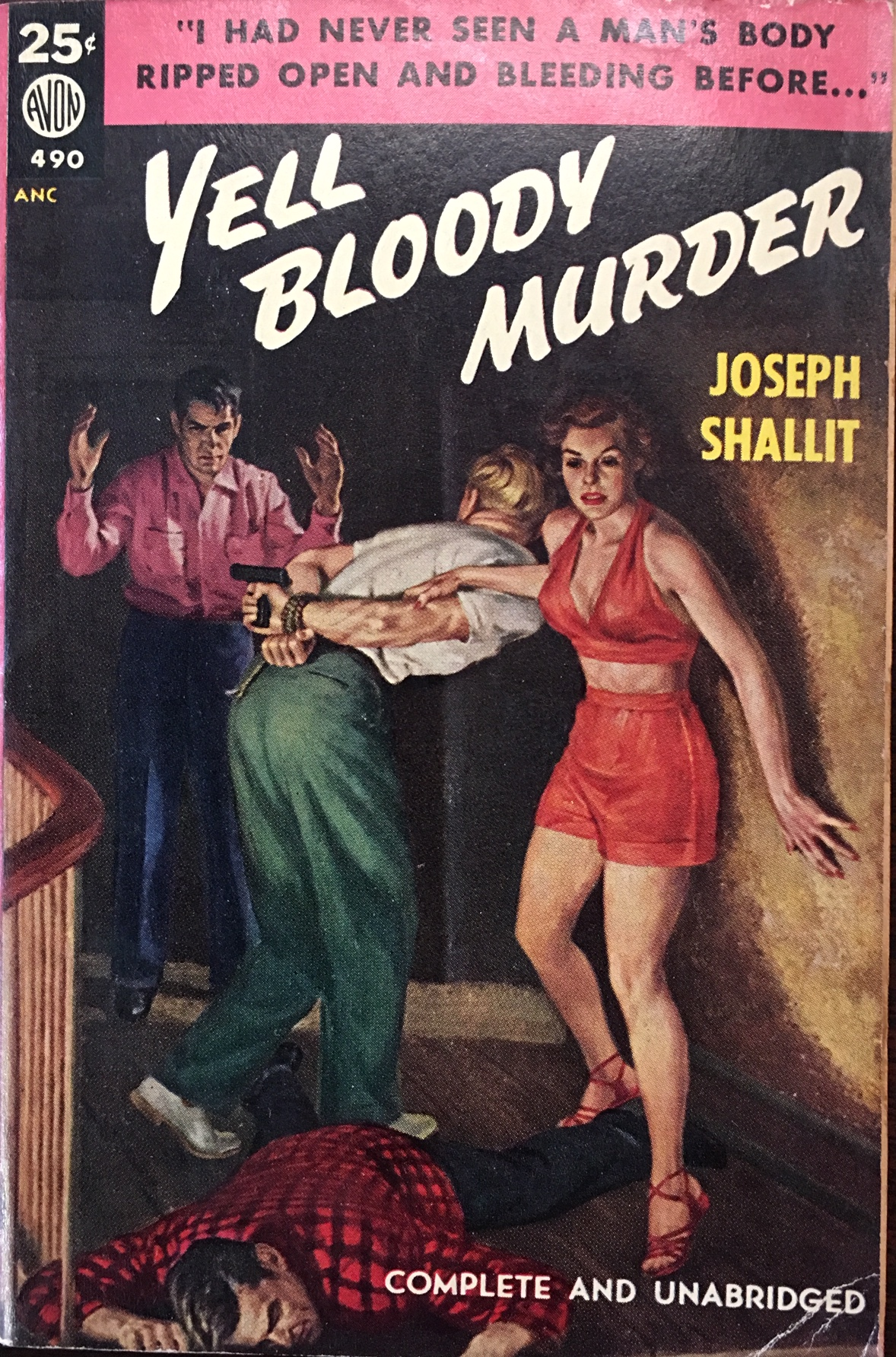 Image for Yell Bloody Murder (Avon 490)