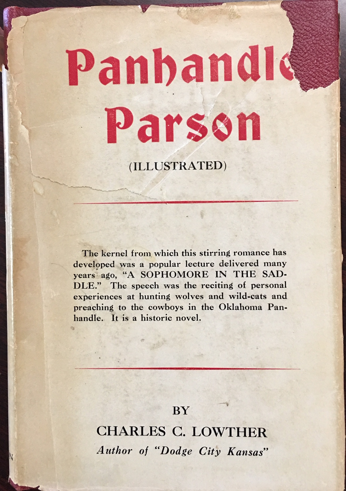 Image for Panhandle Parson