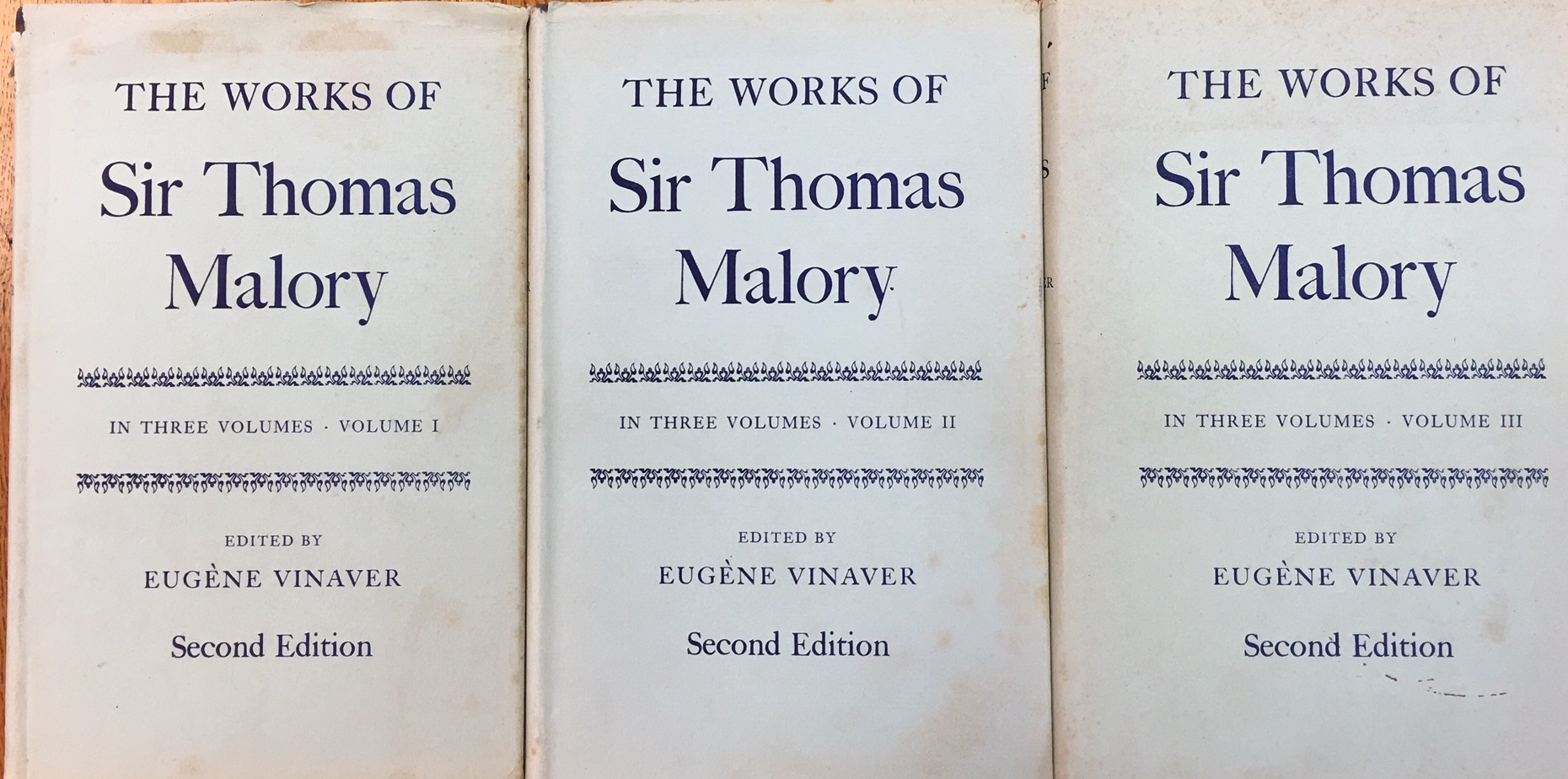 Image for The Works of Sir Thomas Malory. Second Edition - 2nd Edition (3 Volume Set)