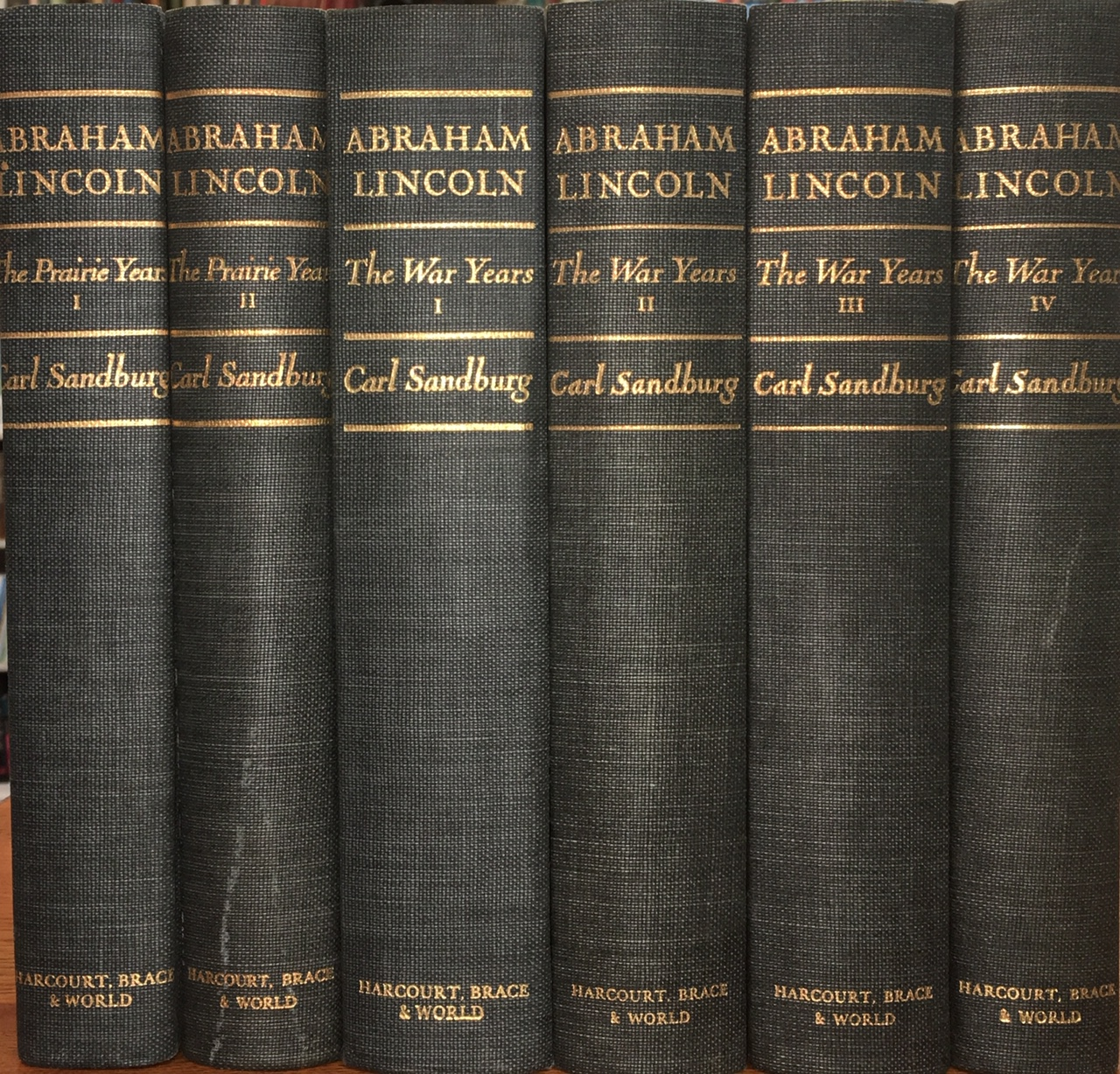 Image for Abraham Lincoln: The Prairie Years & The War Years (6 Volume Set)