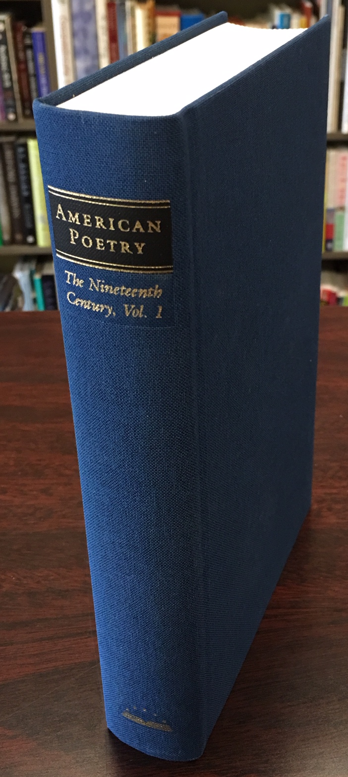 Image for American Poetry: The Nineteenth Century, Vol. 1: Philip Freneau to Walt Whitman