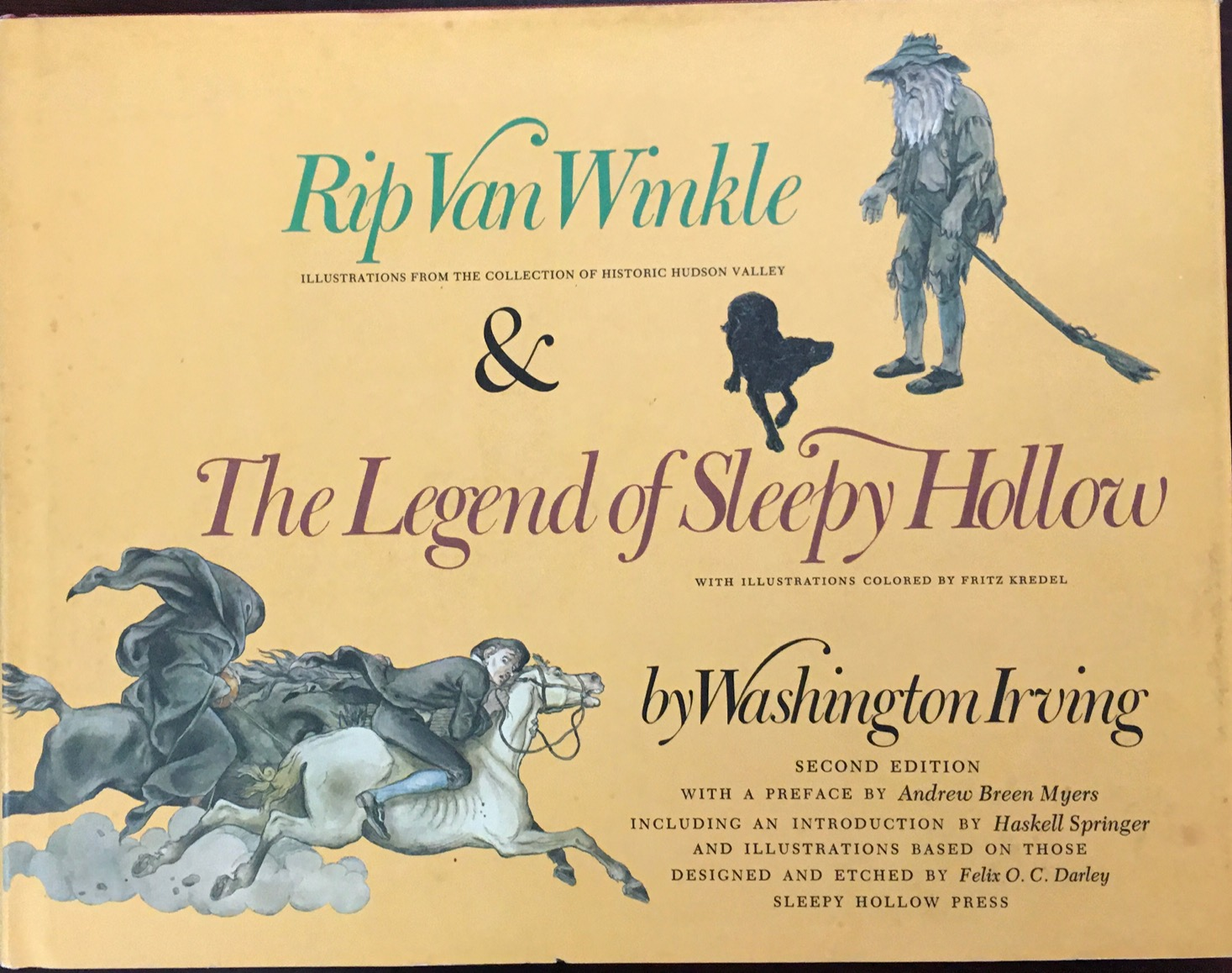 Image for Rip Van Winkle and the Legend of Sleepy Hollow - 2nd Edition