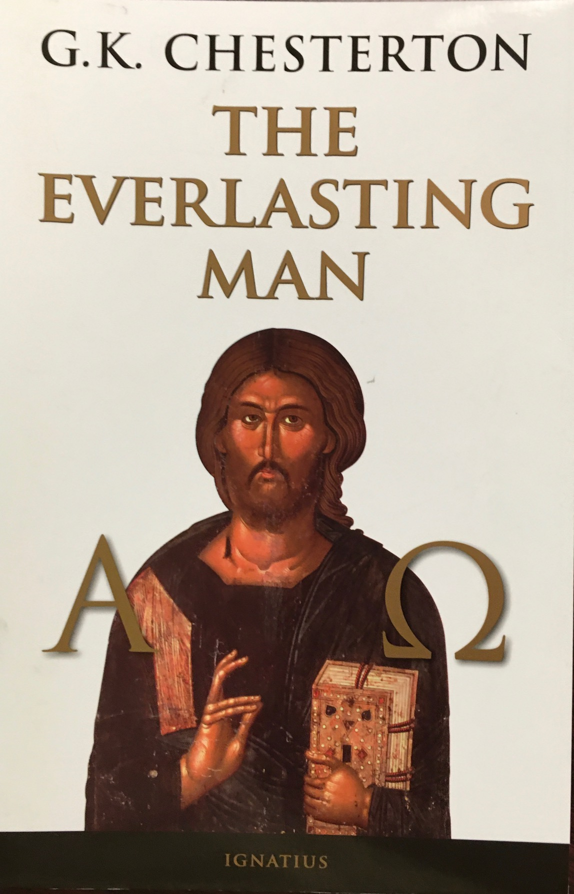 Image for The Everlasting Man by G K Chesterton