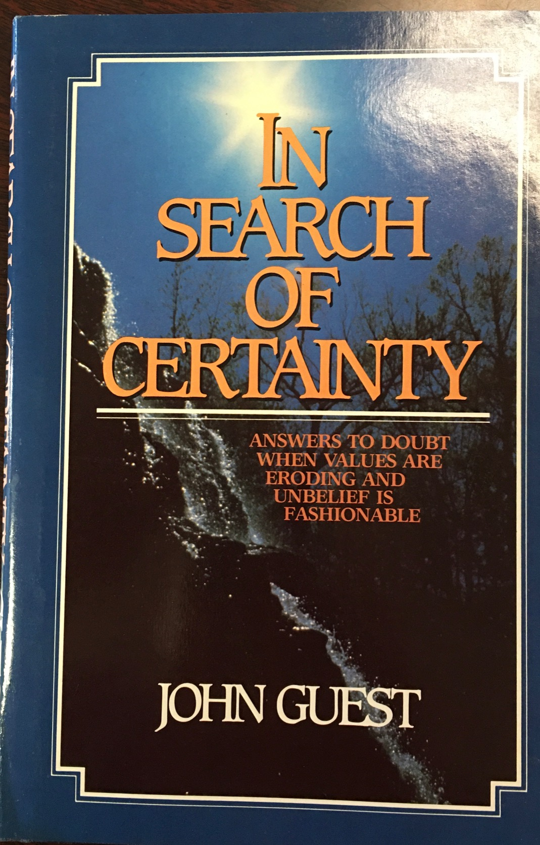 Image for In Search Of Certainty