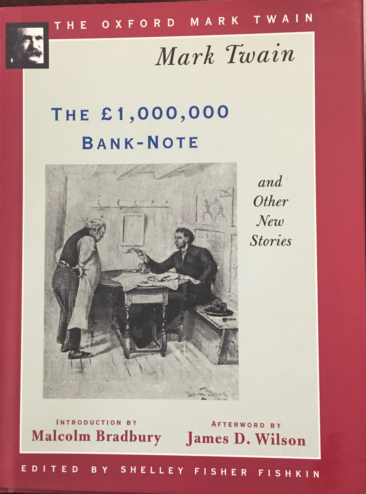 Image for The £1,000,000 Bank-Note and Other New Stories (The Oxford Mark Twain)