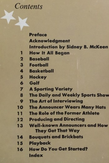 Image for So you want to be a sportscaster;