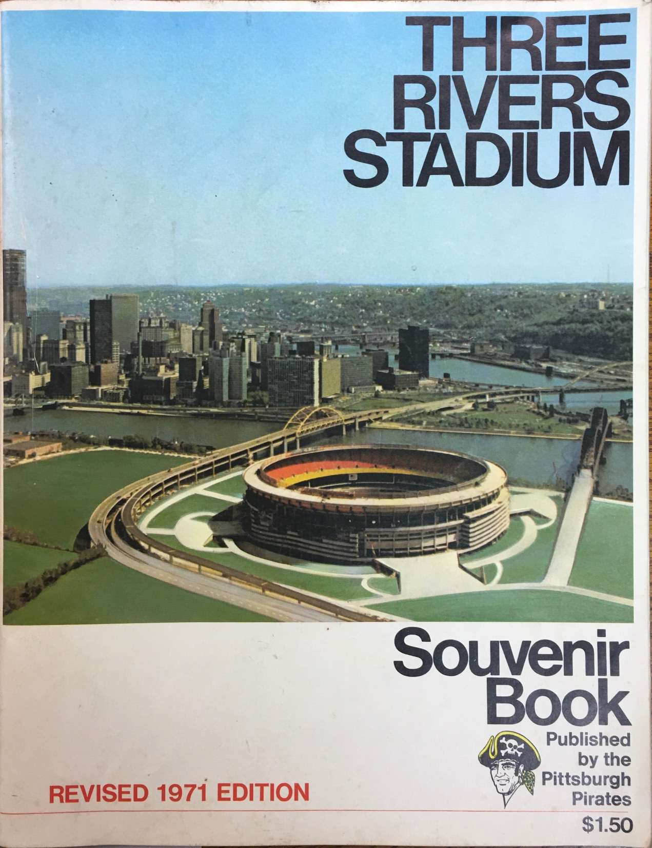 Image for Three Rivers Stadium Souvenir Book - Revised 1971 Edition