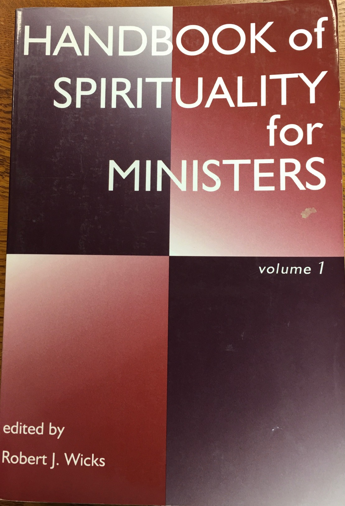 Image for Handbook of Spirituality for Ministers - Volume 1