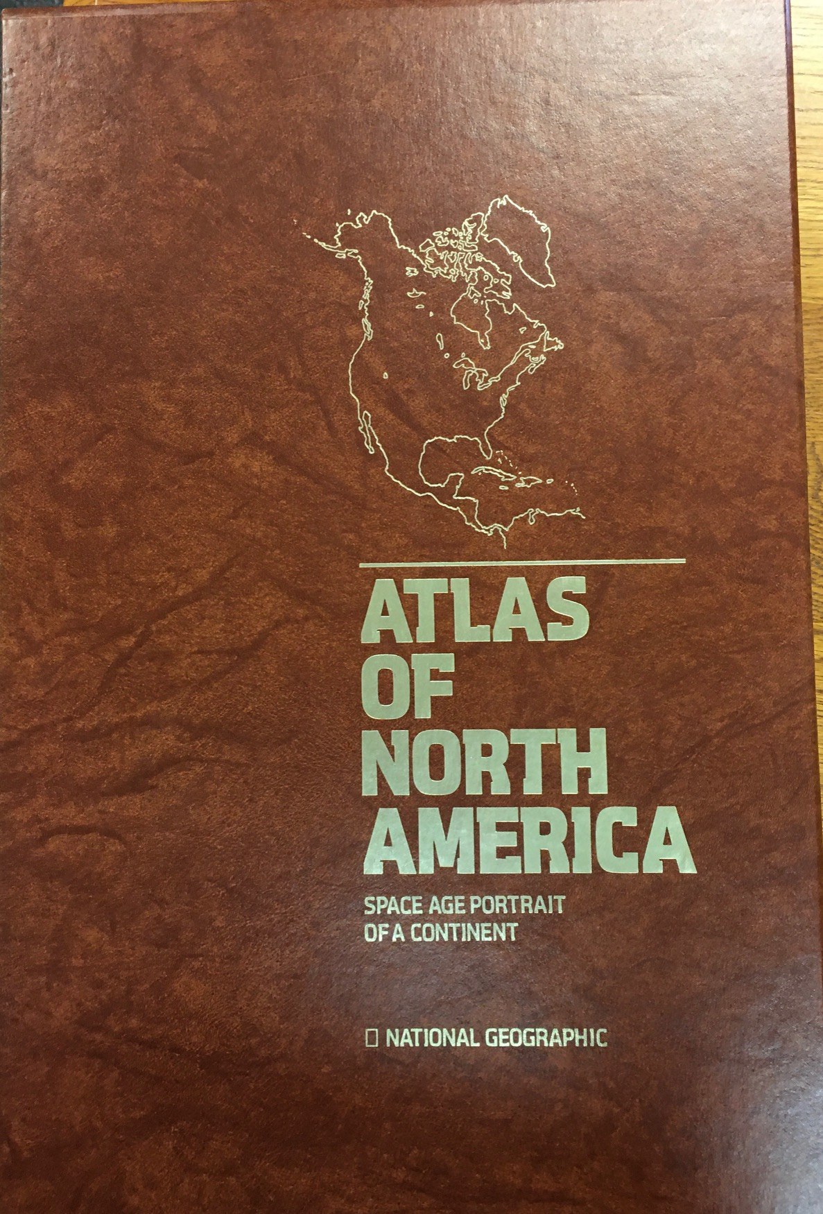 Image for Atlas of North America Space Age Portrait of a Continent
