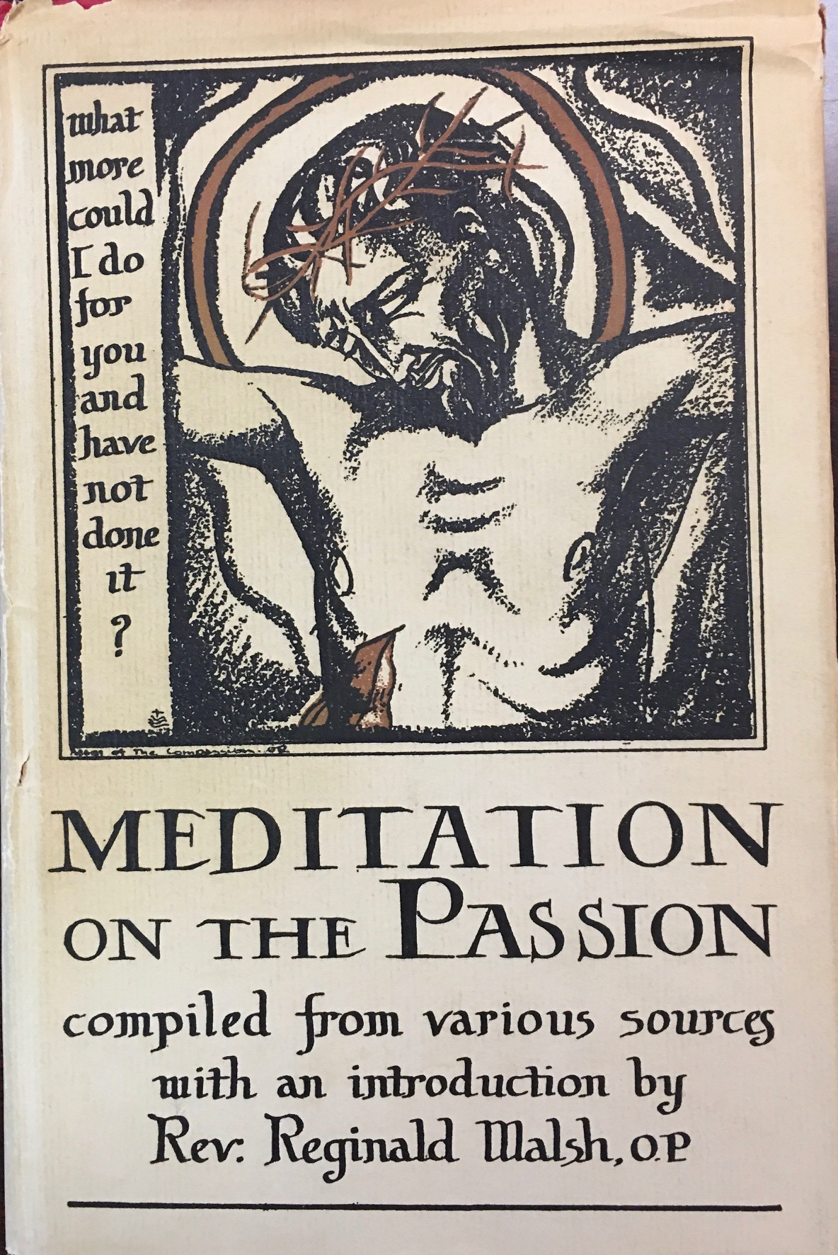 Image for Meditation on the Passion