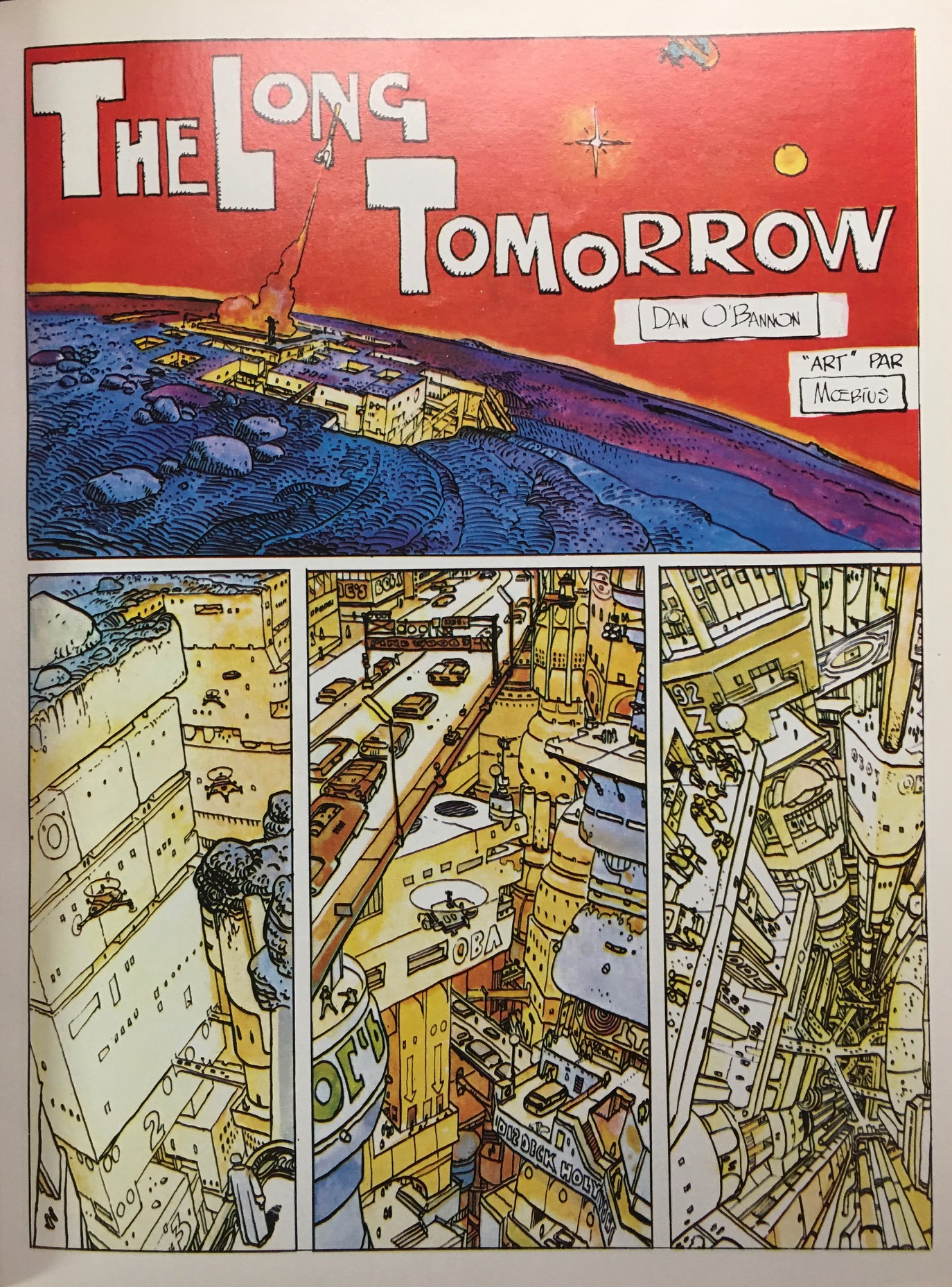 Image for Moebius 4: The Long Tomorrow & Other Science Fiction Stories (The Collected Fantasies of Jean Giraud)