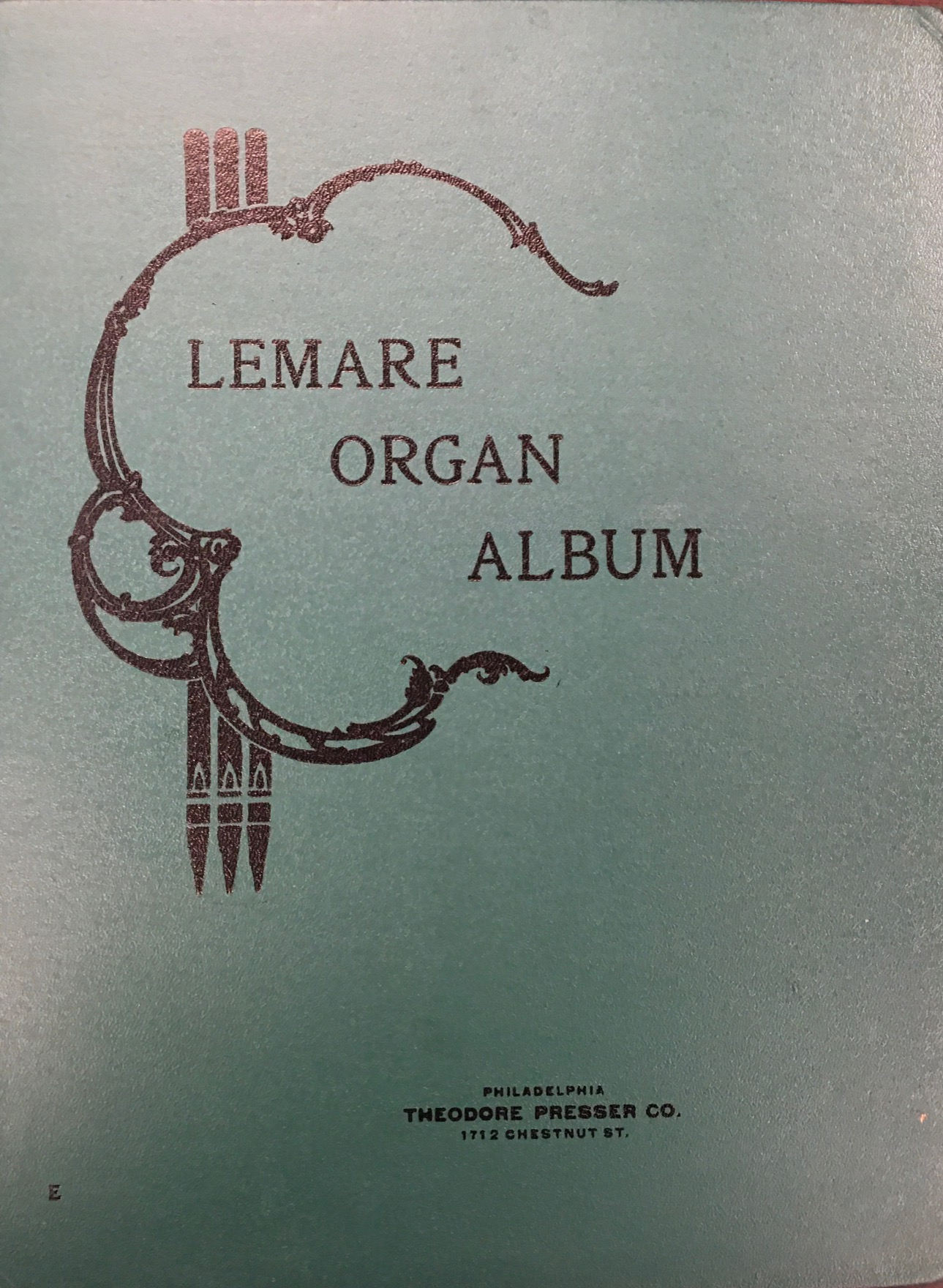 Image for Lemare Organ Album of Transcriptions and Original Compositions