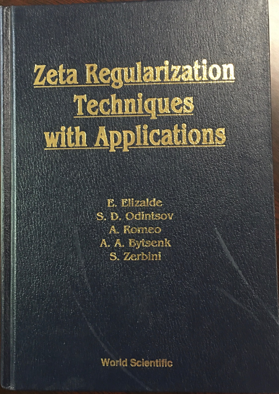 Image for Zeta Regularization Techniques with Applications