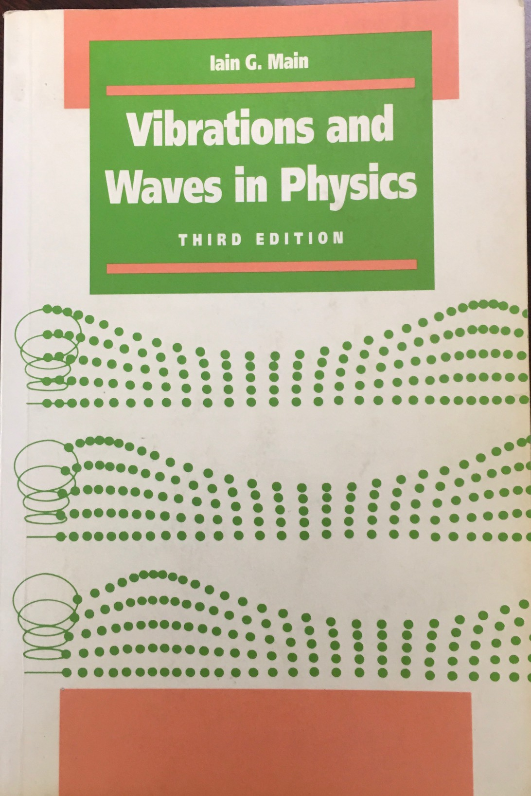 Image for Vibrations and Waves in Physics: Third Edition