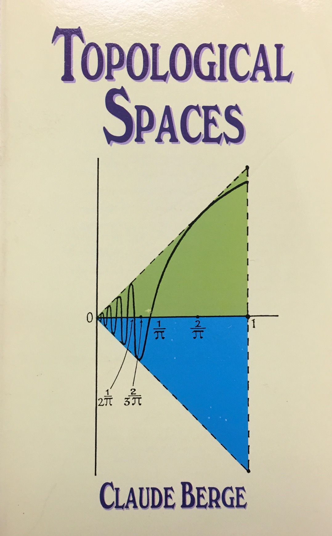 Image for Topological Spaces: Including a Treatment of Multi-Valued Functions, Vector Spaces and Convexity (Dover Books on Mathematics)