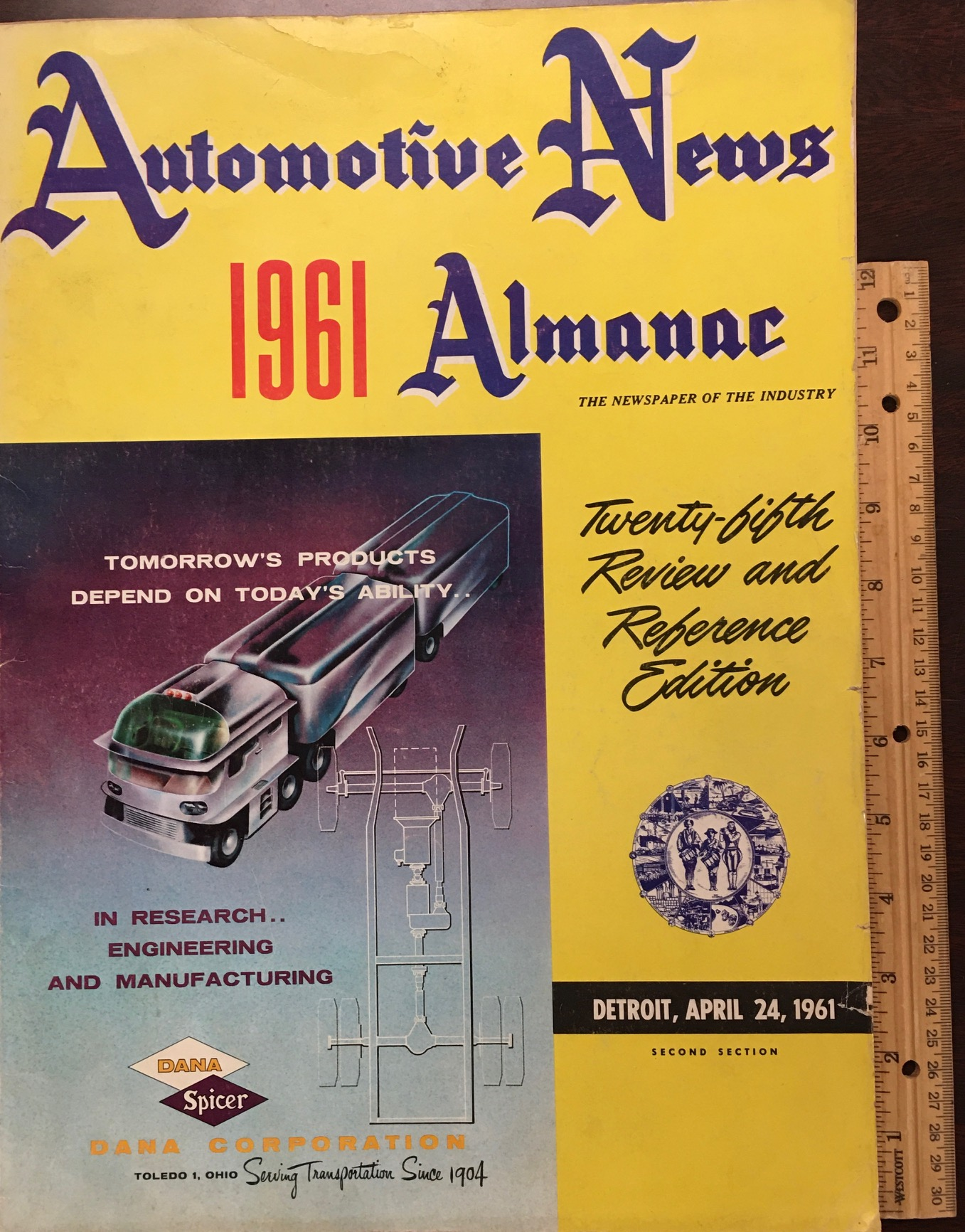 Image for Automotive News Almanac (1961, 1964 & 1969)