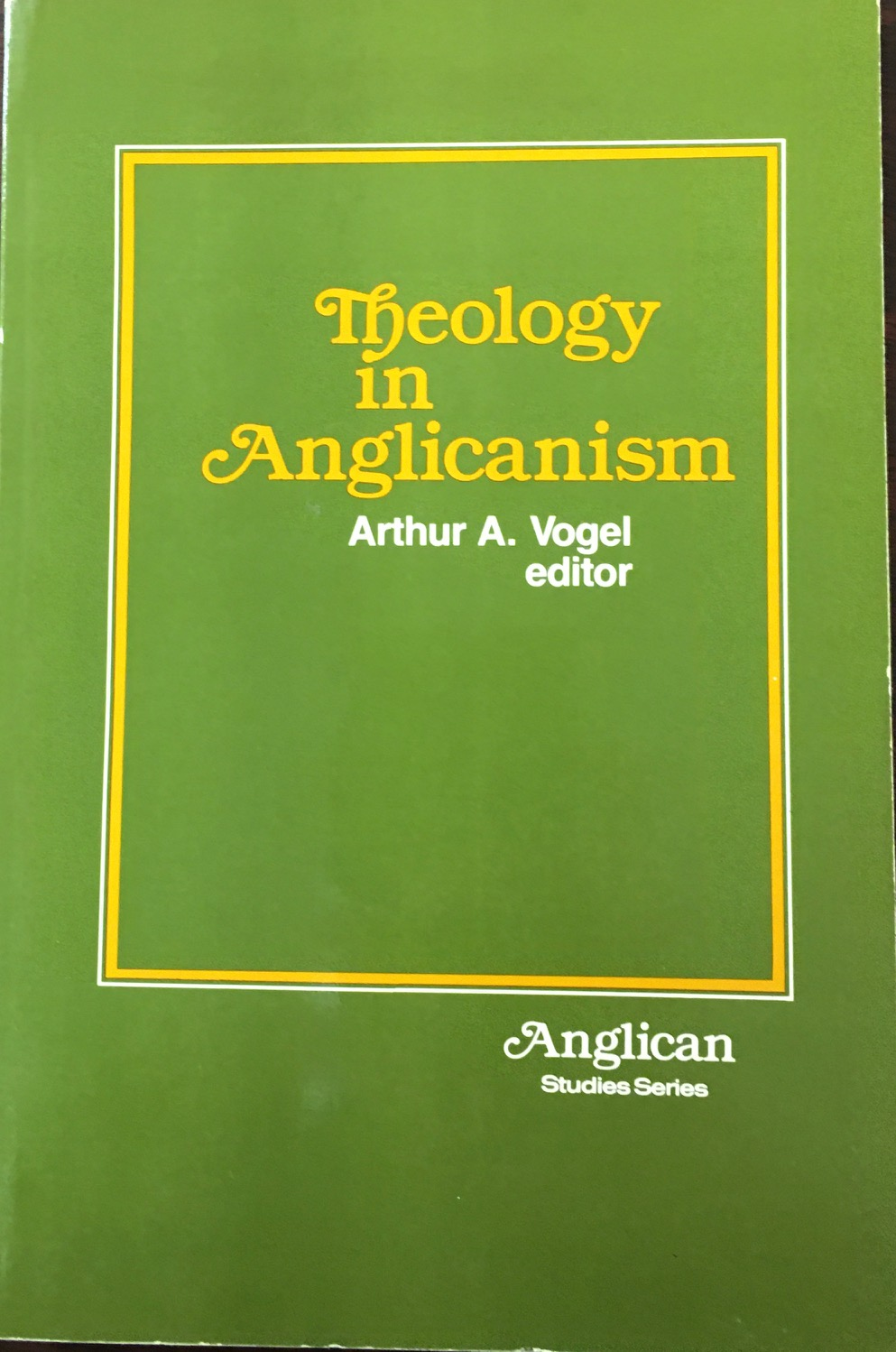 Image for Theology in Anglicanism (Anglican Studies Series)