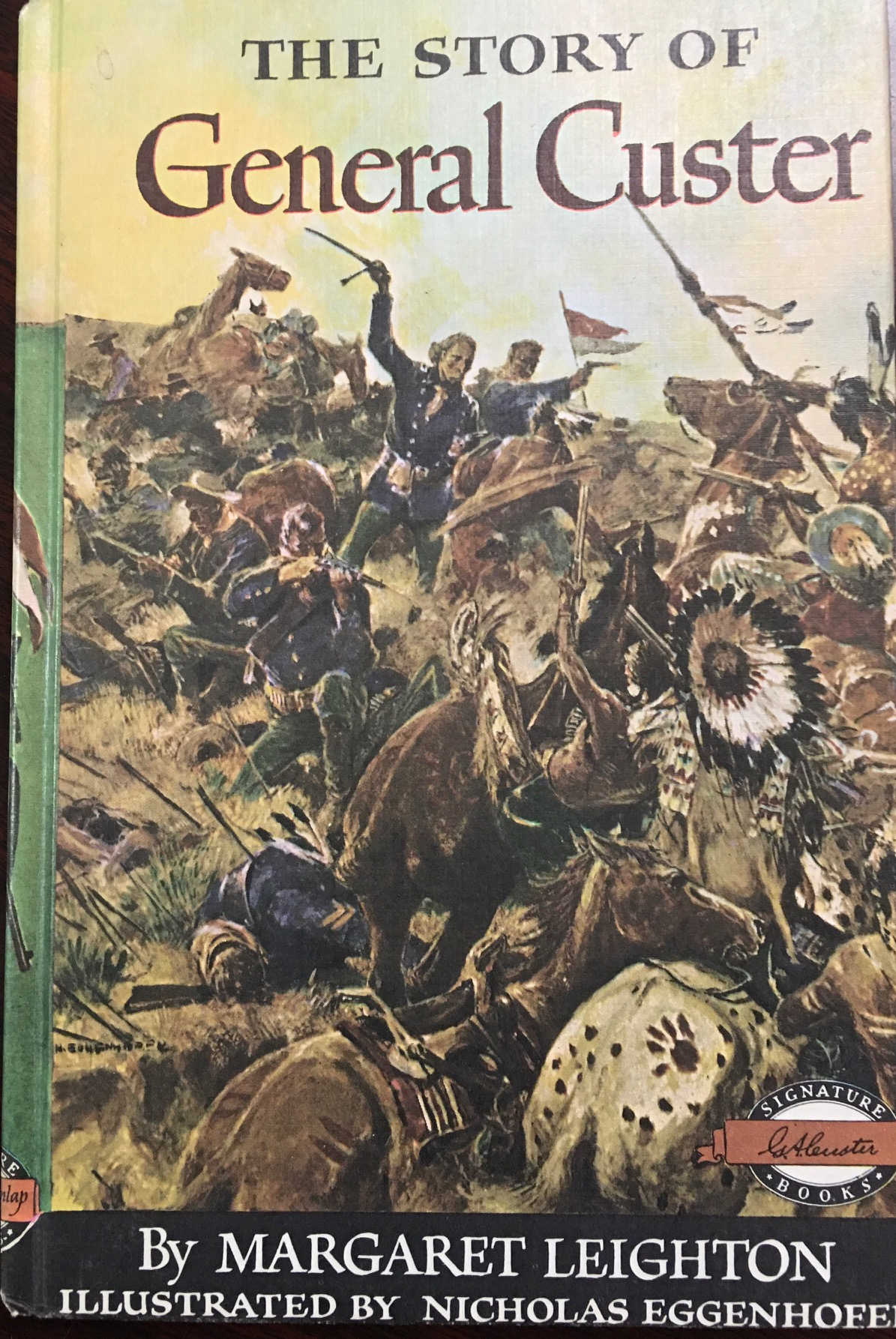 Image for Weekly Reader Books presents: The Story of General Custer (Signature Books - #26)