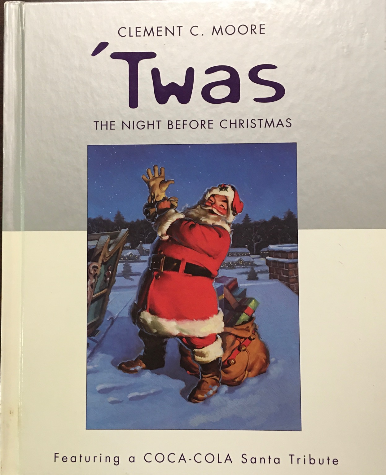 Image for Twas the Night Before Christmas (Featuring a Coca-Cola Santa Tribute)