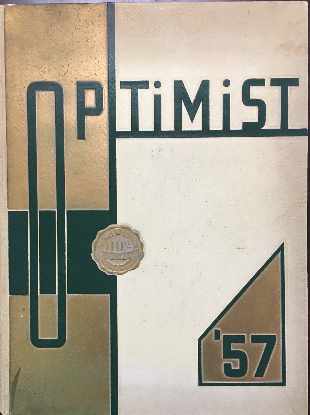 Image for The Optimist: 1957 College of Steubenville Yearbook (Franciscan University of Steubenville)