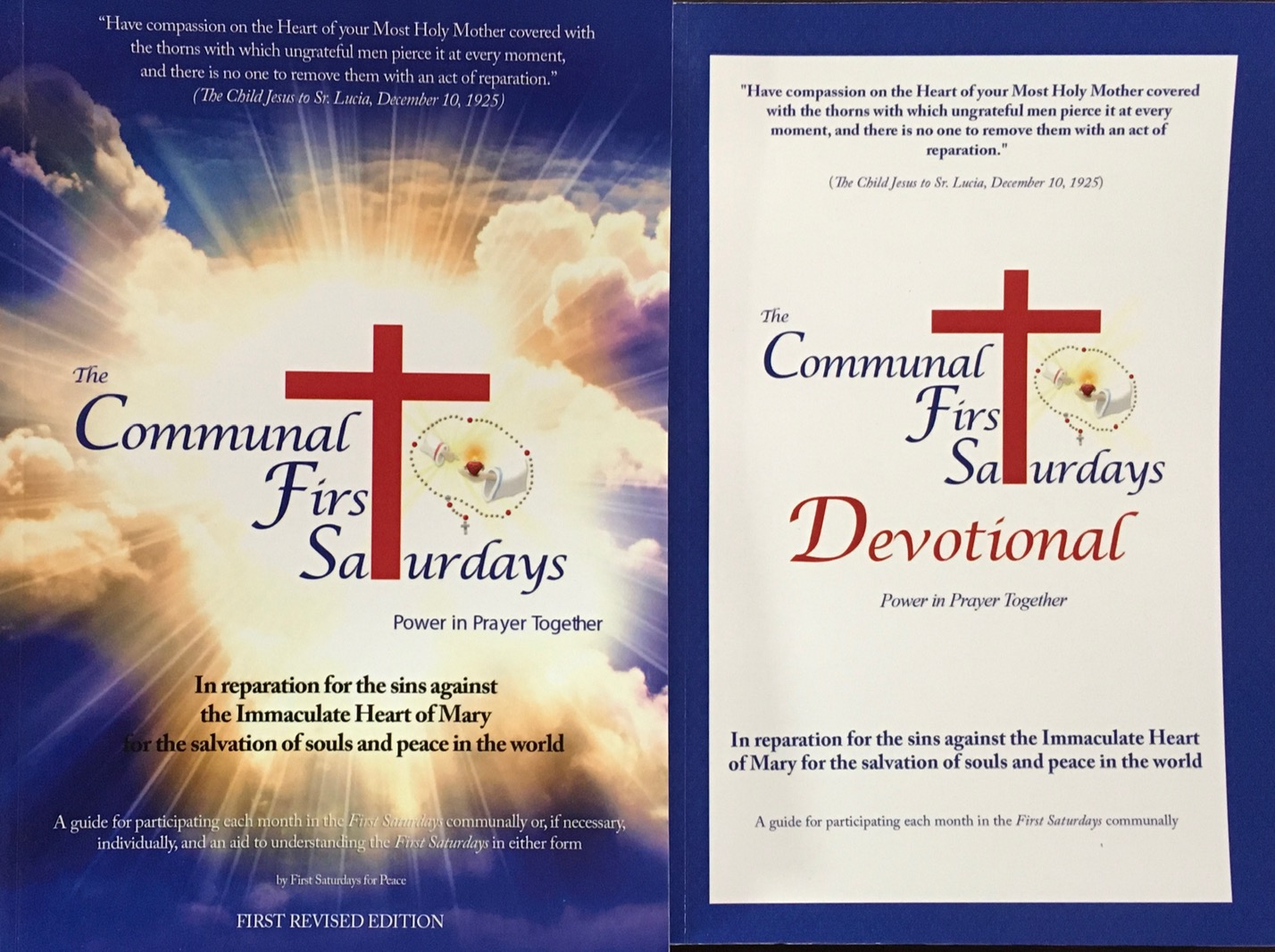 Image for The Communal First Saturdays / The Communal First Saturdays Devotional - 2nd Edition Revised